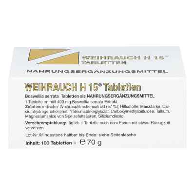 Weihrauch H15 Tabletten  bei versandapo.de bestellen