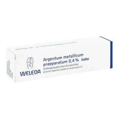 Argentum Metallicum Praep. 0,4% Salbe  bei versandapo.de bestellen