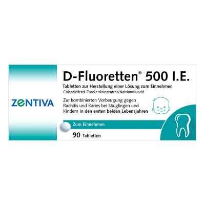 D-Fluoretten 500 internationale Einheiten  bei versandapo.de bestellen