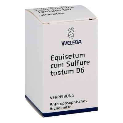 Equisetum Cum Sulf. Tost. D 6 Trituration  bei versandapo.de bestellen