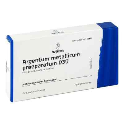 Argentum Metallicum Praep. D 30 Ampullen  bei versandapo.de bestellen