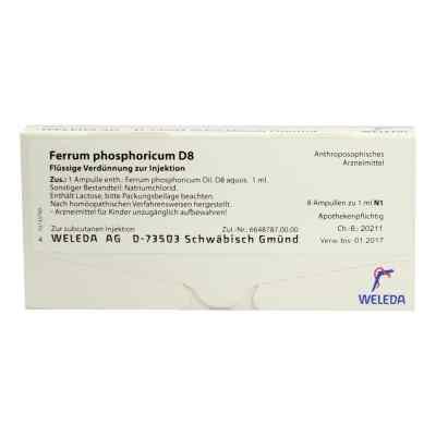 Ferrum Phosphoricum D 8 Ampullen  bei versandapo.de bestellen