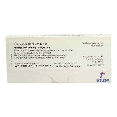 Ferrum Sidereum D 10 Ampullen  bei versandapo.de bestellen
