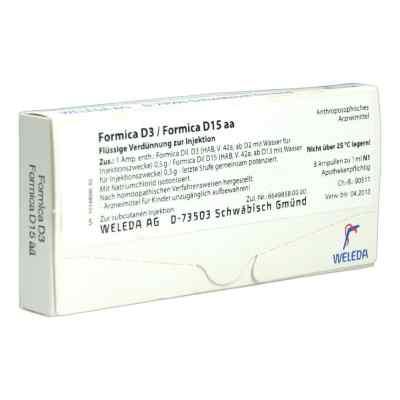 Formica D 3 / Formica D 15 aa Ampullen  bei versandapo.de bestellen