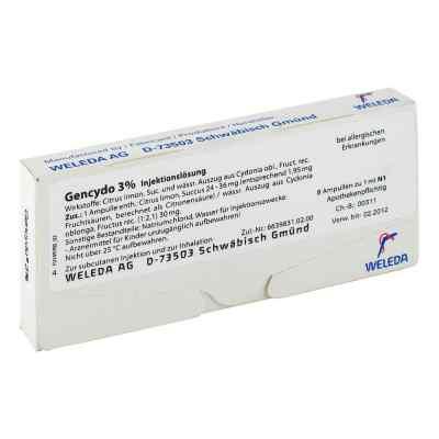 Gencydo 3% Injektionslösung  bei versandapo.de bestellen