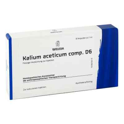 Kalium Acetic. Comp. D 6 Ampullen  bei versandapo.de bestellen