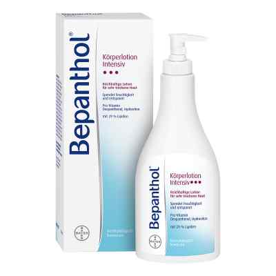 Bepanthol Intensiv Körperlotion Spenderflasche  bei versandapo.de bestellen