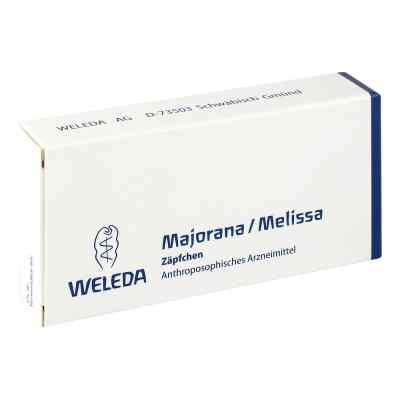 Majorana/melissa Suppositorien  bei versandapo.de bestellen