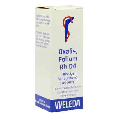 Oxalis Folium Rh D 4 Dilution  bei versandapo.de bestellen