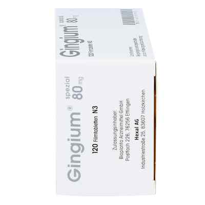 Gingium spezial 80mg  bei versandapo.de bestellen