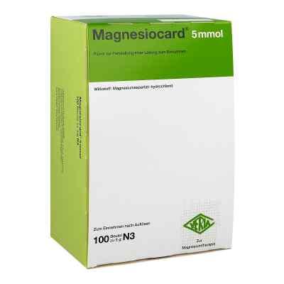 Magnesiocard 5 mmol Pulver  bei versandapo.de bestellen