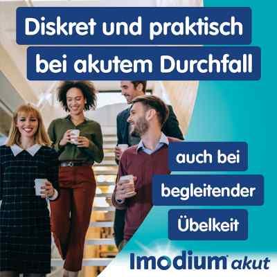 Imodium akut lingual Schmelztabletten bei akutem Durchfall  bei versandapo.de bestellen