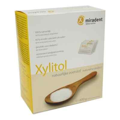 Miradent Zuckerersatz Xylitol Pulver Sachets  bei versandapo.de bestellen