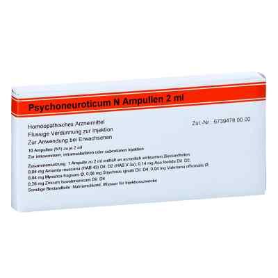 Psychoneuroticum N Ampullen  bei versandapo.de bestellen