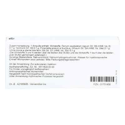 Ferrum Silicium Comp. Ampullen  bei versandapo.de bestellen