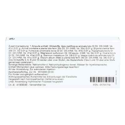 Magnesium Sulfuricum/ Ovaria Comp. Ampullen  bei versandapo.de bestellen