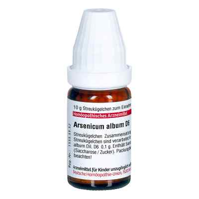 Arsenicum Album D 6 Globuli  bei versandapo.de bestellen