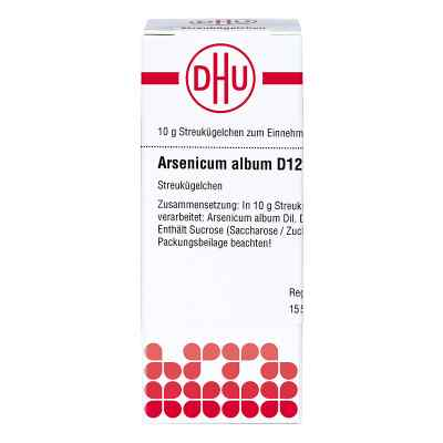 Arsenicum Album D 12 Globuli  bei versandapo.de bestellen
