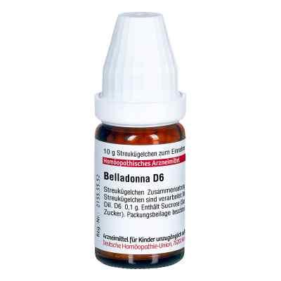Belladonna D 6 Globuli  bei versandapo.de bestellen