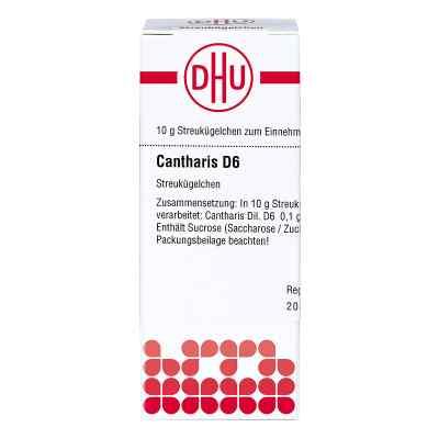 Cantharis D 6 Globuli  bei versandapo.de bestellen