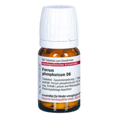 Ferrum Phosphoricum D 6 Tabletten  bei versandapo.de bestellen
