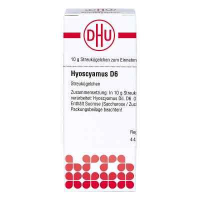 Hyoscyamus D 6 Globuli  bei versandapo.de bestellen