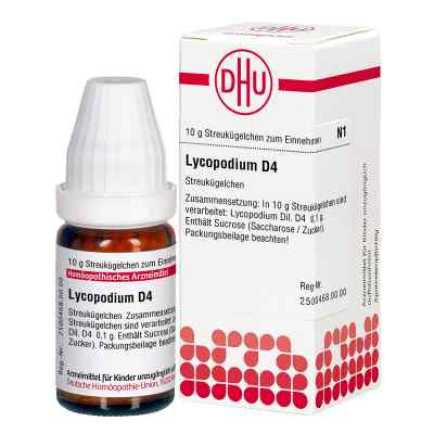 Lycopodium D 4 Globuli  bei versandapo.de bestellen