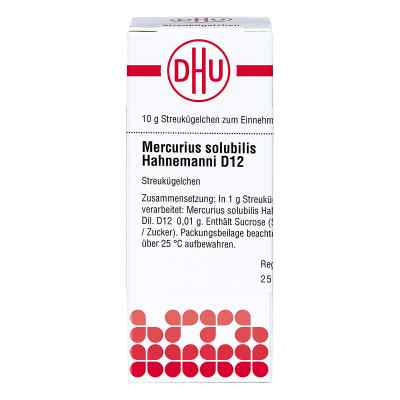 Mercurius Solub. D 12 Globuli Hahnemann   bei versandapo.de bestellen