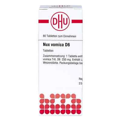 Nux Vomica D 6 Tabletten  bei versandapo.de bestellen
