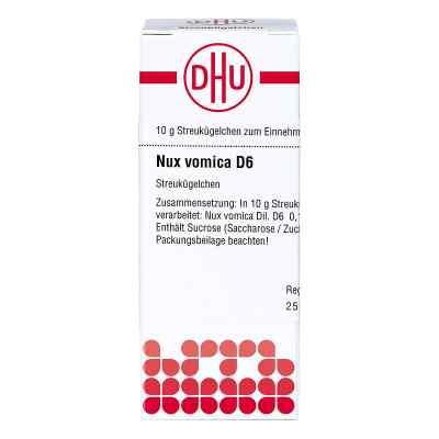 Nux Vomica D 6 Globuli  bei versandapo.de bestellen