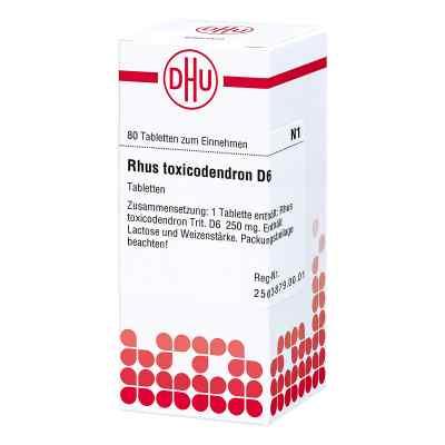Rhus Tox. D 6 Tabletten  bei versandapo.de bestellen