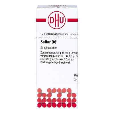 Sulfur D 6 Globuli  bei versandapo.de bestellen