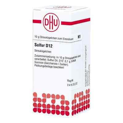 Sulfur D 12 Globuli  bei versandapo.de bestellen