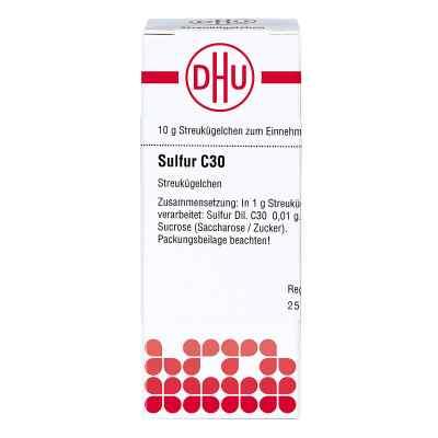 Sulfur C 30 Globuli  bei versandapo.de bestellen