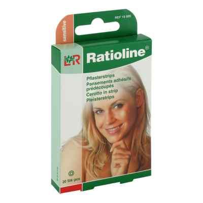 Ratioline sensitive Pflasterstrips rund  bei versandapo.de bestellen
