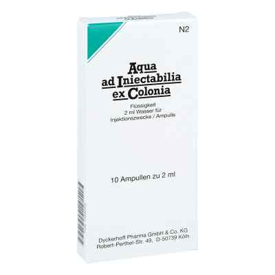Aqua Ad Iniectabilia ex Colonia Ampullen  bei versandapo.de bestellen