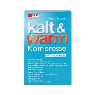 Kalt-warm Kompresse 12x29cm mit Fixierband  bei versandapo.de bestellen