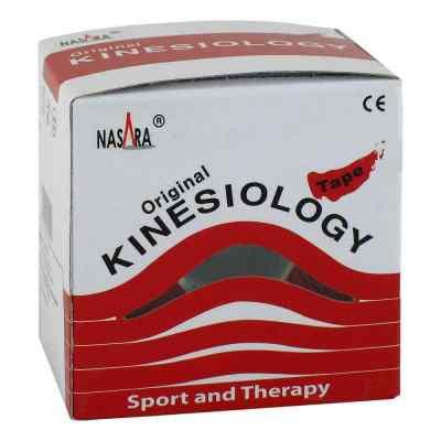 Nasara Kinesio Tape 5 cmx5 m rot inkl.Spenderbox  bei versandapo.de bestellen