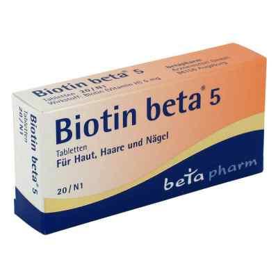 Biotin Beta 5 Tabletten  bei versandapo.de bestellen