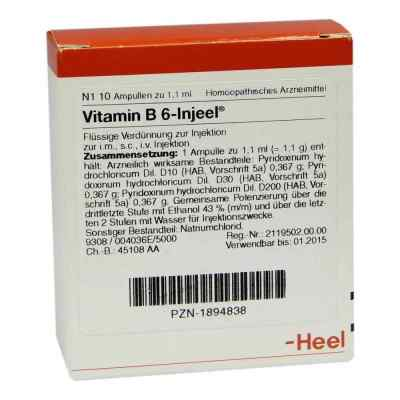 Vitamin B6 Injeel Ampullen  bei versandapo.de bestellen