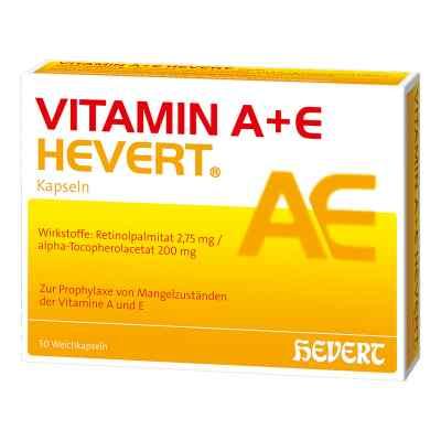 Vitamin A+e Hevert Kapseln  bei versandapo.de bestellen