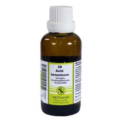 Acidum Benzoicum Komplex Nummer  28 Dilution  bei versandapo.de bestellen