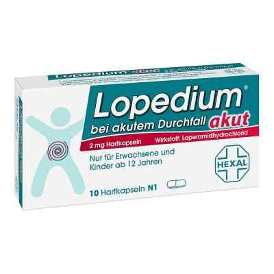 Lopedium akut bei akutem Durchfall  bei versandapo.de bestellen