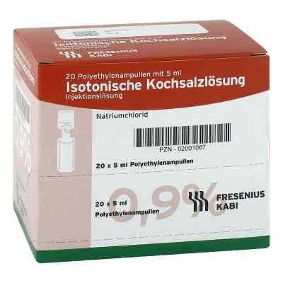 Isotonische Kochsalzlösung 0,9% Plastikampullen  bei versandapo.de bestellen