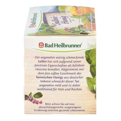 Bad Heilbrunner Tee Salbei Honig Filterbeutel  bei versandapo.de bestellen