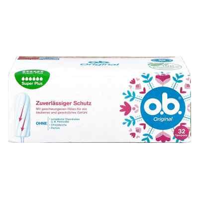 O.b. Tampons super plus  bei versandapo.de bestellen