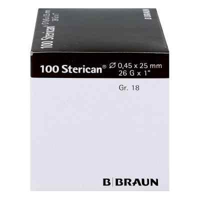 Sterican Kanüle luer-lok 0,45x25mm Größe 1 8 braun  bei versandapo.de bestellen
