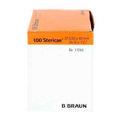 Sterican Dentalkan.luer 0,5x40  bei versandapo.de bestellen