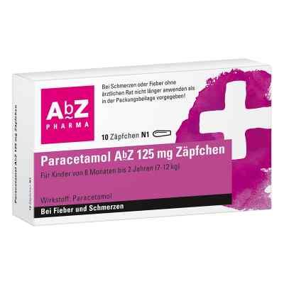 Paracetamol AbZ 125mg  bei versandapo.de bestellen