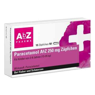 Paracetamol AbZ 250mg  bei versandapo.de bestellen